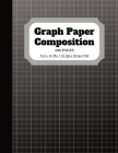 Graph Paper Composition: Notebook Graph paper pages and White Paper - 5x5 Composition Notebook - Quad Ruled - 5 squares per inch - 100 pages - Cover Image