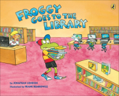 Froggy Goes to the Library Cover Image