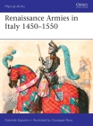 Renaissance Armies in Italy 1450–1550 (Men-at-Arms) Cover Image