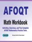 AFOQT Math Workbook: Activities, Exercises, and Two Complete AFOQT Mathematics Practice Tests Cover Image
