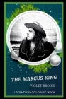 The Marcus King Legendary Coloring Book: Relax and Unwind Your Emotions with our Inspirational and Affirmative Designs Cover Image