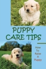 Puppy Care Tips: How To Raise A Puppy: How To Raise A Puppy Cover Image