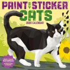 Paint by Sticker Cats Wall Calendar 2020 Cover Image