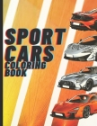 Sport cars Coloring book: 50 cars coloring page, American Muscle Cars, Supercar, Luxury Cars, Classic Cars, and Jdm car. Cover Image