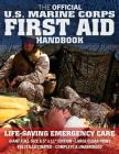 The Official US Marine Corps First Aid Handbook - Full-Size Edition: Fully Illustrated, Current Edition, Big 8.5 X 11 Size, Large Clear Print, Complet Cover Image