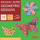 Origami Paper - Geometric Prints - 6 3/4 - 49 Sheets: Tuttle Origami Paper: High-Quality Origami Sheets Printed with 6 Different Patterns: Instruction Cover Image