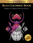 Bugs Coloring Book Insects Dragonflies Bugs Cover Image