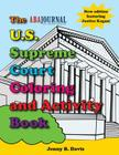 The U.S. Supreme Court Coloring and Activity Book [With Crayons] Cover Image