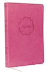 Kjv, Thinline Bible, Leathersoft, Pink, Red Letter Edition, Comfort Print Cover Image