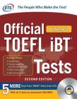 Official TOEFL IBT Tests Volume 2, Second Edition [With DVD ROM] Cover Image