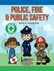 Public Safety Activity & Coloring Book Cover Image