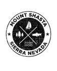 Mount Shasta Sierra Nevada: California Notebook For Camping Hiking Fishing and Skiing Fans. 7.5 x 9.25 Inch Soft Cover Notepad With 120 Pages Of C Cover Image