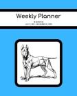 Weekly Planner: Bull Terrier; 18 months; July 1, 2019 - December 31, 2020; 8