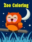 Zoo Coloring: picture books for seniors baby Cover Image