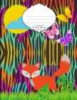 Fox Notebook: School Supplies Composition Book and Journal for Kids Cover Image