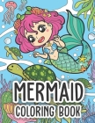 Mermaid Coloring Book Cover Image