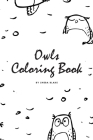 Hand-Drawn Owls Coloring Book for Teens and Young Adults (6x9 Coloring Book / Activity Book) Cover Image