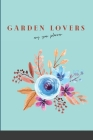 Garden Lovers Any Year Planner: With Bonus Recipes Cover Image