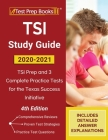 TSI Study Guide 2020-2021: TSI Prep and 3 Complete Practice Tests for the Texas Success Initiative [4th Edition] Cover Image