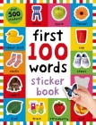 First 100 Stickers: Words: Over 500 Stickers Cover Image