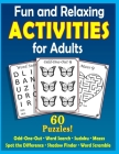 Fun and Relaxing Activities for Adults: Puzzles for People with Dementia [Large-Print] Cover Image