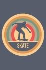 Skate: Retro Vintage Skateboard Terminplaner A5 mit Wochenkalender & Monatsplaner 2020 - Geschenk für Skater & Skateboarder Cover Image