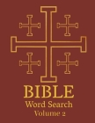 Bible Word Search: Popular Hymns & Bible Themed Puzzle Book For Adults Large Print Cover Image