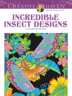 Incredible Insect Designs Coloring Book (Creative Haven Coloring Books) Cover Image