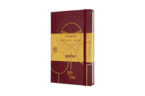 Moleskine Limited Edition Notebook Harry Potter, Book6, Large, Ruled, Bordeaux Red (5 x 8.25) Cover Image