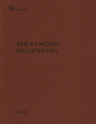 Aebi & Vincent Architectes: de Aedibus Cover Image