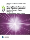 Oecd/G20 Base Erosion and Profit Shifting Project Making Dispute Resolution More Effective - Map Peer Review Report, Turkey (Stage 2) Inclusive Framew Cover Image
