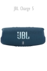 Jbl Charge 5: Portable Bluetooth Speaker with IP67 Waterproof and USB Charge Out - Blue (Renewed) Cover Image